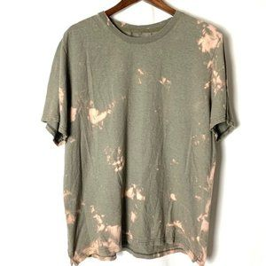 REI Men's One of a Kind Tie Dyed Green T-Shirt L